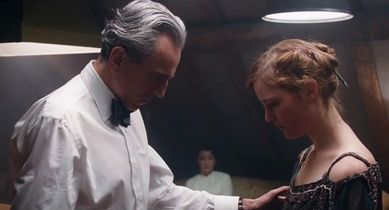 Phantom Thread is delicately-woven, eleganant melodrama at its finest