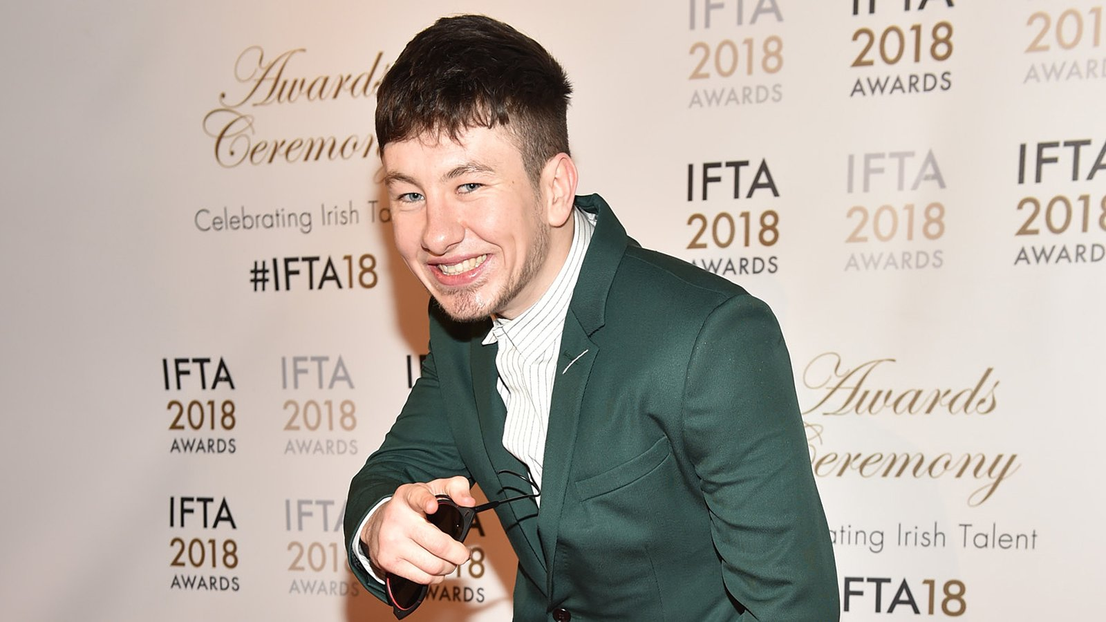 Barry Keoghan IFTA 2018