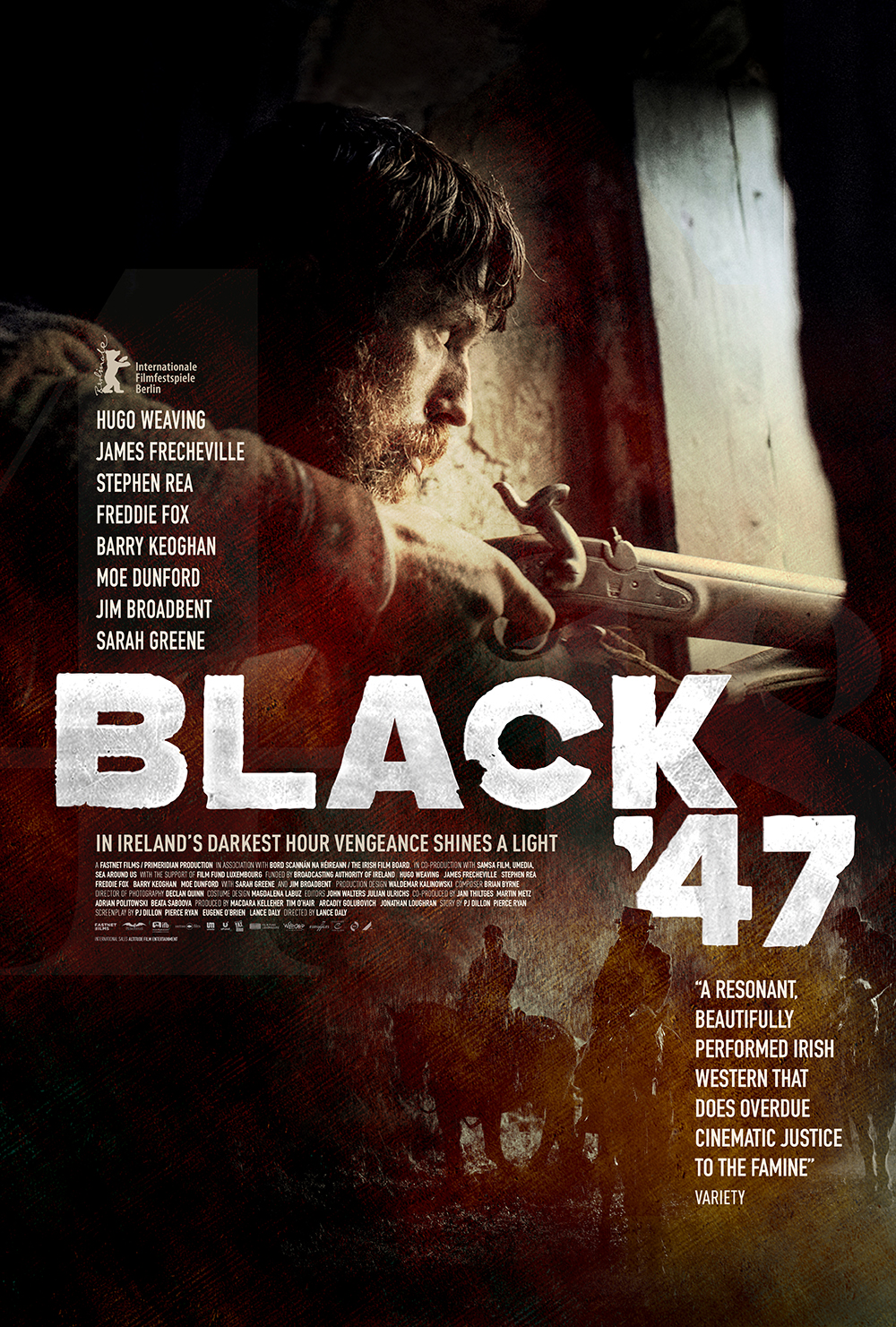 Irish action movie Black 47 gets Irish release date