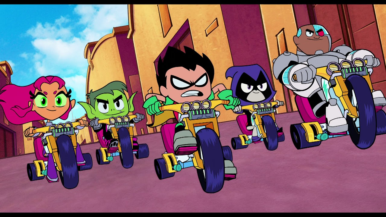 Go! with Teen Titans Go! To the Movies