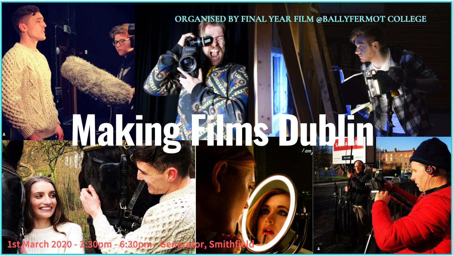 Making Films Dublin to launch filmmaking journeys