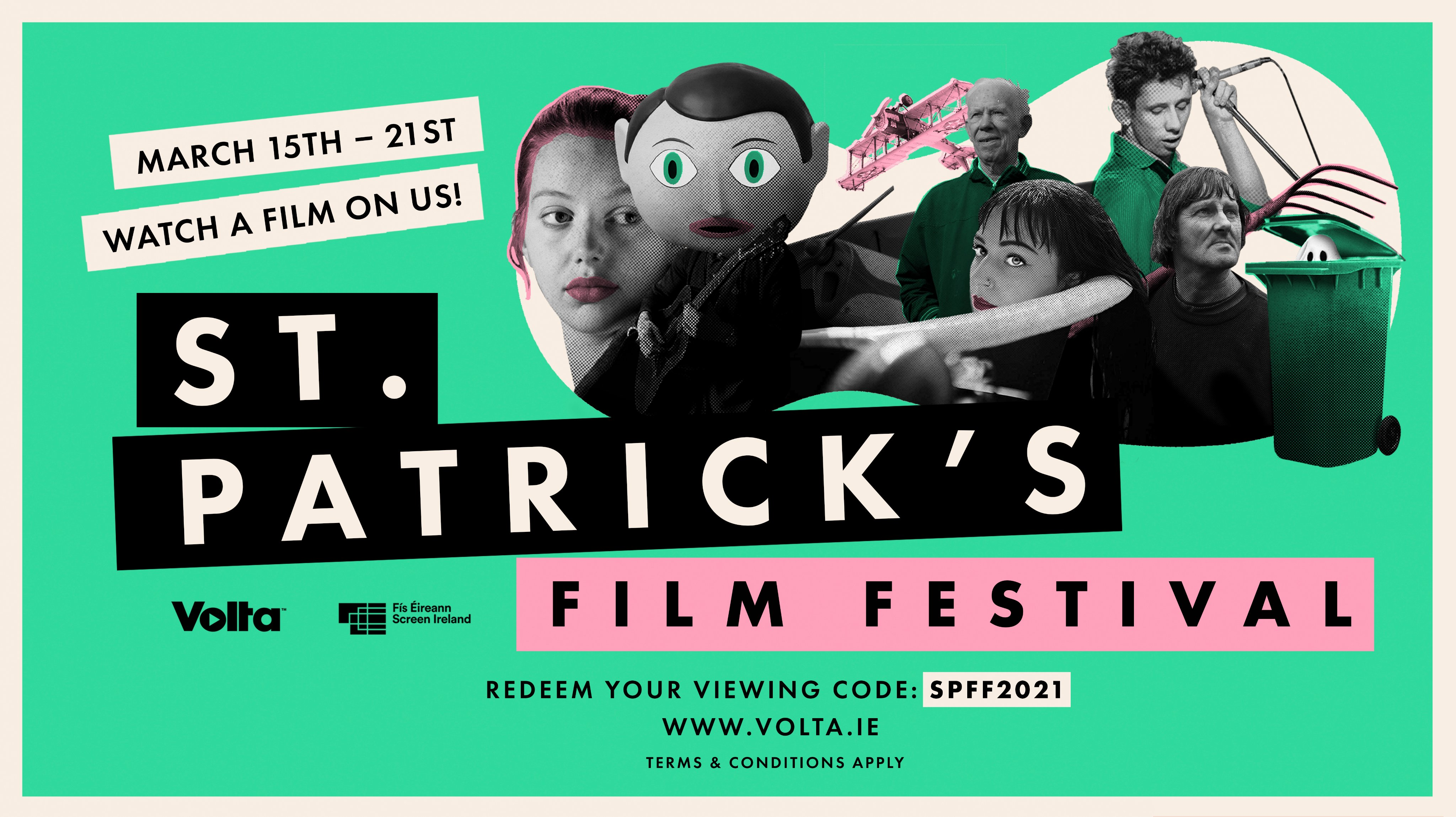 Some of the best of Irish film at the St. Patrick's Film Festival with Volta